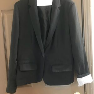 Jackets & Blazers - Suit jacket-black